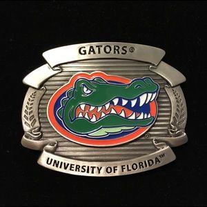University of Florida Gators Belt Buckle.